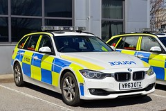 YR63 OTZ (S11 AUN) Tags: car estate traffic south yorkshire police bmw vehicle roads emergency unit 999 rpu policing syp 330d anpr yr63otz