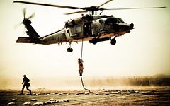 030317-N-5362A-004 (warriorincusa) Tags: training craft helicopter rib insertion markv seahawk specialoperations fastrope swic sh60 navalspecialwarfare operationenduringfreedoom