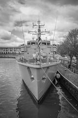 M38 HMS Atherstone (gothick_matt) Tags: uk bristol unitedkingdom harbour places harbourside m38 minesweeper floatingharbour arnolfini hmsatherstone tupperwarenavy