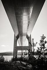 BronBW (RobT4L) Tags: bridge blackandwhite monochrome canon sweden bro hgakusten hgakustenbron canon24105 canon7dmarkii canon7dmark2 skrstter