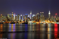 New York City Skyline (Nitish_Bhardwaj) Tags: city nyc newyorkcity longexposure blue panorama usa newyork water skyline architecture america canon us cityscape waterfront skyscrapers unitedstates outdoor manhattanskyline empirestatebuilding bluehour nycskyline newyorkatnight nycnight midtownmanhattan nightskyline newyorkcityskyline newyorknight nycphoto nycskyscrapers newyorkcitynight nyclights newyorkphoto newyorkphotography nycnightskyline cityscapenight newyorkcityphotography manhattannight midtownskyscrapers manhattancityscape nyccityscape