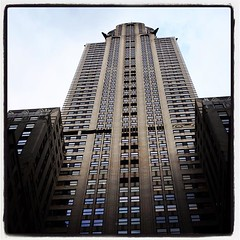 Chrysler Building #chryslerbuilding #chrysler #skyskraper #artdeco... (Anders SB) Tags: nyc newyork architecture design manhattan landmark artdeco chrysler chryslerbuilding arkitektur skyskraper williamvanalen uploaded:by=flickstagram instagram:photo=1124733016930612034202339955