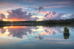 Carr Mill, UK (Jeffpmcdonald) Tags: uk water sunrise sthelens merseyside carrmilldam nikond7000 jeffpmcdonald april2016