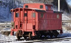 Arkville, New York (9 of 18) (Bob McGilvray Jr.) Tags: railroad ny newyork train pc steel tracks caboose cupola cr prr arkville delawareulsterrailroad