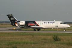 S5-AAF FRA 31-8-2011 (Plane Buddy) Tags: frankfurt mini fra adria crj canadair crj200 eddf s5aaf