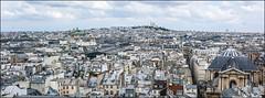 les toits de Paris n2 (Paucal) Tags: leica panorama paris digital grande pano coeur panoramic xpan sacr roue m9 toits summilux35