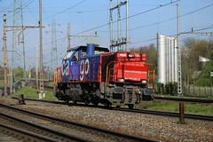SBB Am 843 061 Pratteln (daveymills31294) Tags: am sbb ffs pratteln cff 061 rangierlok baureihe 843