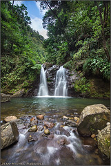 Martinique Rain Forest (Jean-Michel Raggioli) Tags: forest river waterfall martinique caribbean fortdefrance ourplanet