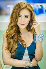 DSC03934 (inkid) Tags: portrait people girl lady female thailand prime lights model women pretty dof bokeh f14 85mm sigma indoor thai ambient thaigirl hsm motorexpo2015
