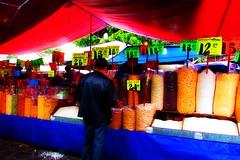 Mercado de Tepoztln (Anamario Queijeiro) Tags: mexico colores mercado cereales tepoztlan morelos tepozteco sabados pueblosmagicos