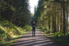Day 8 - Cratloe Woods (jackpjthornton) Tags: county trees ireland portrait tree art nature lines contrast forest self one photo woods clare day walk sony sigma every 24mm everyday preserve leading f4 selfie 24105 cratloe a6000 speedbooster metabones