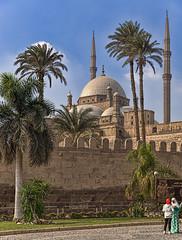 Mosque of Muhammad Ali, Cairo, Egypt (bfryxell) Tags: minaret egypt cairo alabastermosque mosqueofmuhammadali citadelofsaladin
