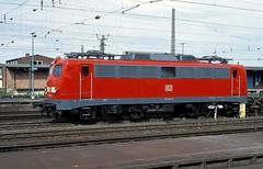 110 154  Kassel  02.05.03 (w. + h. brutzer) Tags: analog train germany deutschland nikon 110 eisenbahn railway zug trains db locomotive kassel lokomotive e10 elok eisenbahnen eloks webru