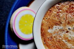 coffee... break (dimitra_milaiou) Tags: life pink blue light shadow people food black hot color love cup kitchen coffee beautiful smile yellow greek photography cafe lemon nice nikon europe cookie shot drink good geometry d live cook hellas tasty plate athens line greece biscuit eat round taste moment lovely shape 90 pleasure andros dimitra d90 ελλάδα φωτογραφία καφέσ δήμητρα μπισκότο milaiou μηλαίου