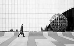 Working day (fernando_gm) Tags: madrid street people blackandwhite bw man blancoynegro monochrome 35mm monocromo fuji business fujifilm xt1