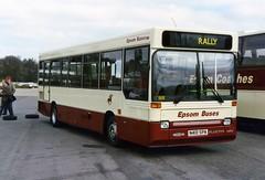 Epsom Buses (Vernon C Smith) Tags: buses rally cobham epsom brooklands