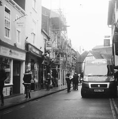 Goodramgate, York (Christopher Arundel) Tags: york england bw white black monochrome britain yorkshire yorkuk goodramgate
