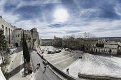 Place du palais (Miguel Ángel Prieto) Tags: france de los papas des palais avignon francia papes palacio aviñón