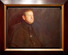 Portrait of Andrew Wyeth by Jamie Wyeth 1969. Denver Art Museum, Andrew and Jamie Wyeth in the Studio (Travel to Eat) Tags: portrait wyeth andrewwyeth jamiewyeth