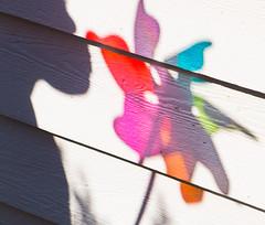 Rainbow silhouette (moofishbear) Tags: boy shadow colour silhouette rainbow pinwheel 25ccfbt