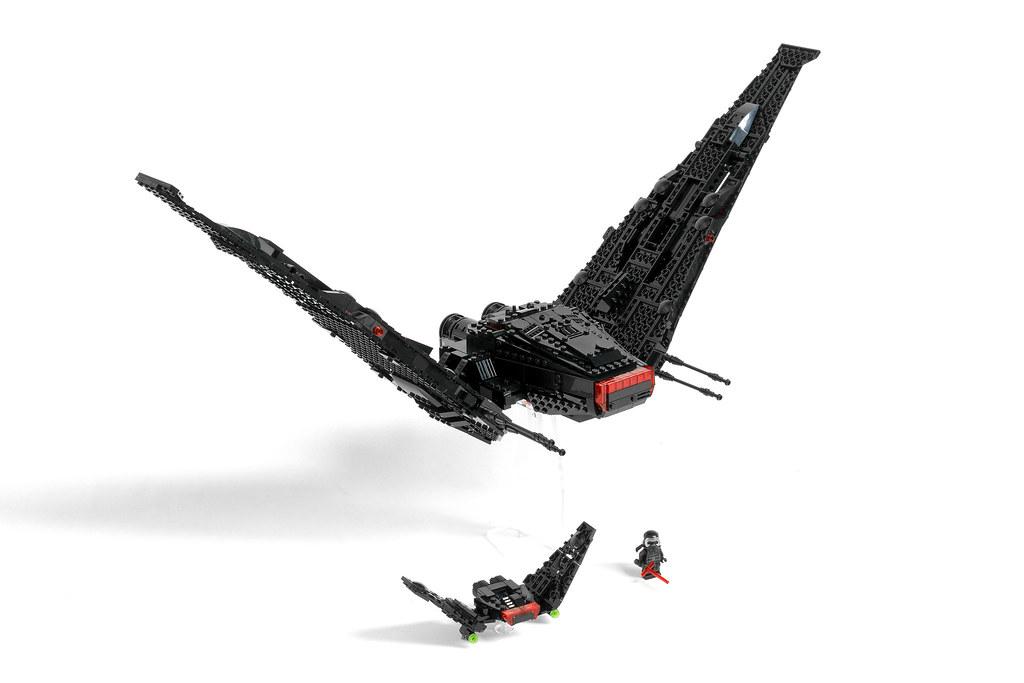 kylo ren space shuttle lego - photo #6