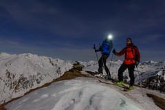 Esqu noctmbulo (David Andrade 77) Tags: espaa moon snow ski sport spain nieve luna deporte moonlight neige beret espagne skier pyrenees baqueira pirineos pirineo valdaran pyrinee valledearn aranvalley esqudetravesa skirandonee esqudemontaa skieurope costarjas