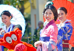 Lunar New Year (Magical Memories by Maddy) Tags: disneyland lunarnewyear mulan disneycaliforniaadventure mushu disneyprincess paradisepier disneyholidays disneyfacecharacters
