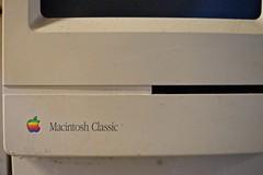 Macintosh Classic... (Igelskar) Tags: computer macintosh mac fujixt1