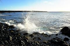 splash 1 (heartinhawaii) Tags: ocean sunset sea nature hawaii coast seaside rocks pacific tide shoreline maui splash oceansplash 808 lavarocks rockyshoreline ahihicove seasplash southmaui rocksandsea nikond3300 mauiinnovember ahihinaturereserve