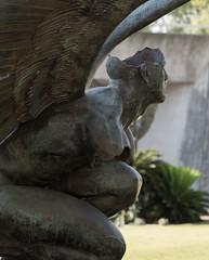 Broken (billcoo) Tags: art look metal bronze work out iron bokeh watching oriental bernardo