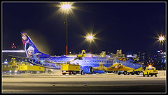 C-GWSV Westjet Disney Frozen Plane Boeing 737-800 (Tom Podolec) Tags:  way this all image may any used rights be without reserved permission prior 2015news46mississaugaontariocanadatorontopearsoninternationalairporttorontopearson