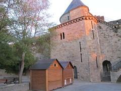2010 09 08 Francia - Linguadoca Rossiglione - Carcassonne_0817 (Kapo Konga) Tags: mura francia carcassonne ferie languedocroussillon 2star citta cittamedievale