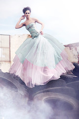 (Kera Robson) Tags: pink inspiration colour model teal surreal tyres pastle pastles