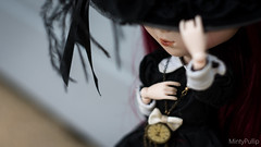 Dark alice~ (MintyP.) Tags: 6 dark photography outfit shoes alice sony wig groove pullip 58mm helios merl nex stica hotdotz mintypullip elwyna