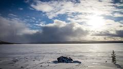 Pske p Vaggatem (KnutHSolberg) Tags: norway norge vinter europa natur forsvaret finnmark psken gsv srvaranger rstid pasvikdalen pasvikelva vaggatem lype12