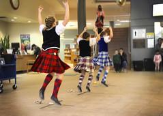 Highland Dancers Maple Ridge (ruthlesscrab) Tags: dance library highland mapleridge tartan