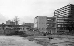 Demolished (Arne Kuilman) Tags: netherlands amsterdam 35mm iso400 nederland rangefinder agfa verbouwing sloop schneiderkreuznach apx400 adox radionar polomat1