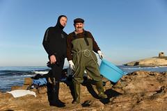 fishermen friends (Tomislav Bicanic) Tags: morning friends sea italy beach coast fishing nikon sardinia fisher torredelpozzo sargdena nikond750