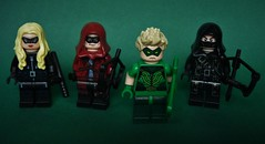 Green Arrow (-Galaad-) Tags: comics dc lego arrow minifig marvel arsenal blackcanary minifigure greenarrow new52 darkarcher
