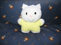 Lil Miss Kitty (The Blushing Sheep) Tags: handknit softtoy ravelry