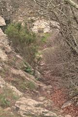 Frontire franco-espagnole en Catalogne, la borne 595 au coll dels Empredats. (Claudia Sc.) Tags: espaa france spain border espagne frontera pyrnes borne mojon banyuls catalogne frontire bordermarker