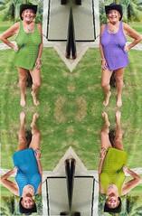 ann7 (absindopfer1960) Tags: hat photoshop legs outdoor seethrough mirrorimage colorsplash hedonism seethru sheer thetravelslut travelslut annthetravelslut