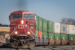 Twice As Nice (marko138) Tags: railroad train pennsylvania 18thstreet locomotive canadianpacific soo railfan 203 norfolksouthern camphill mainline intermodal sd60m gevo railroadphotography lurganbranch gees44ac foreignpower lurb cp8808 gevolivesmatter