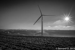 Calmont en Lauragais, plein phares... (BO31555) Tags: nikon 20mm 31 calmont 2016 midipyrnes grandangle eoliennes d810
