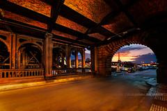 Pont-Alexandre-III (Gilles Bourdreux Photography) Tags: bridge sunset urban sun paris france seine architecture reflections lights soleil nikon long exposure tour eiffel pont reflets lumières urbain alexandreiii d610