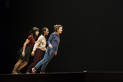 Marie Fonte, Francesca Ziviani, Elise Legros (DanceTabs) Tags: uk men london climb women circus stage performing arts barbican entertainment gravity acrobatics acrobat balance staged performers performer acrobatic contemporarydance hewhofalls yoannbourgeois dancetabs mariefonte eliselegros londoninternationalmimefestival2016 contemporaryvisualtheatre limf2016 compagnieyoannbourgeois costumesginette francescaziviani jeanbaptisteandre juliencramillet lightingadelegrepinet mathieubleton bodieslean hangandfall