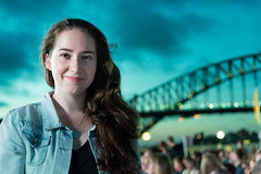 20150223-195537-_DSC5351.jpg (Foster's Lightroom) Tags: water au sydney bridges australia circularquay newsouthwales concerts sydneyharbourbridge harbours katiemorgan timminchinonthesteps