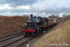 GCR-WINTER-GALA-79 (Steven Reid - Reid Photographic) Tags: railroad heritage train vintage smoke engine railway steam locomotive steamengine 260 steamlocomotive lms 2016 greatcentralrailway gcr ivatt wintergala heritagerailways 46521 ivattclass2