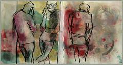 allgegenwartiges Handy (Alemwa) Tags: berlin kreuzberg sketching menschen tglich zeichnung zeichnen alemwa