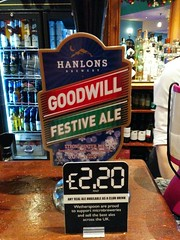 Hanlons Goodwill Festive Ale (DarloRich2009) Tags: beer ale brewery bitter camra realale ohanlons campaignforrealale handpull ohanlonsbrewery hanlonsgoodwillfestiveale hanlons goodwillfestiveale hanlonsbrewery